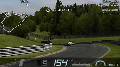 65-1 Gran Turismo PSP Nürburgring Time Trial Replay Castrol TOM's Supra 01