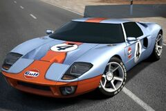 Ford GT LM Race Car