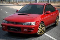 Subaru IMPREZA Sedan WRX STi Version II '95