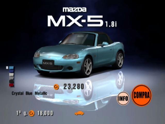 Mazda MX-5 1800 RS (NB, J) \'00 | Gran Turismo Wiki | FANDOM powered ...