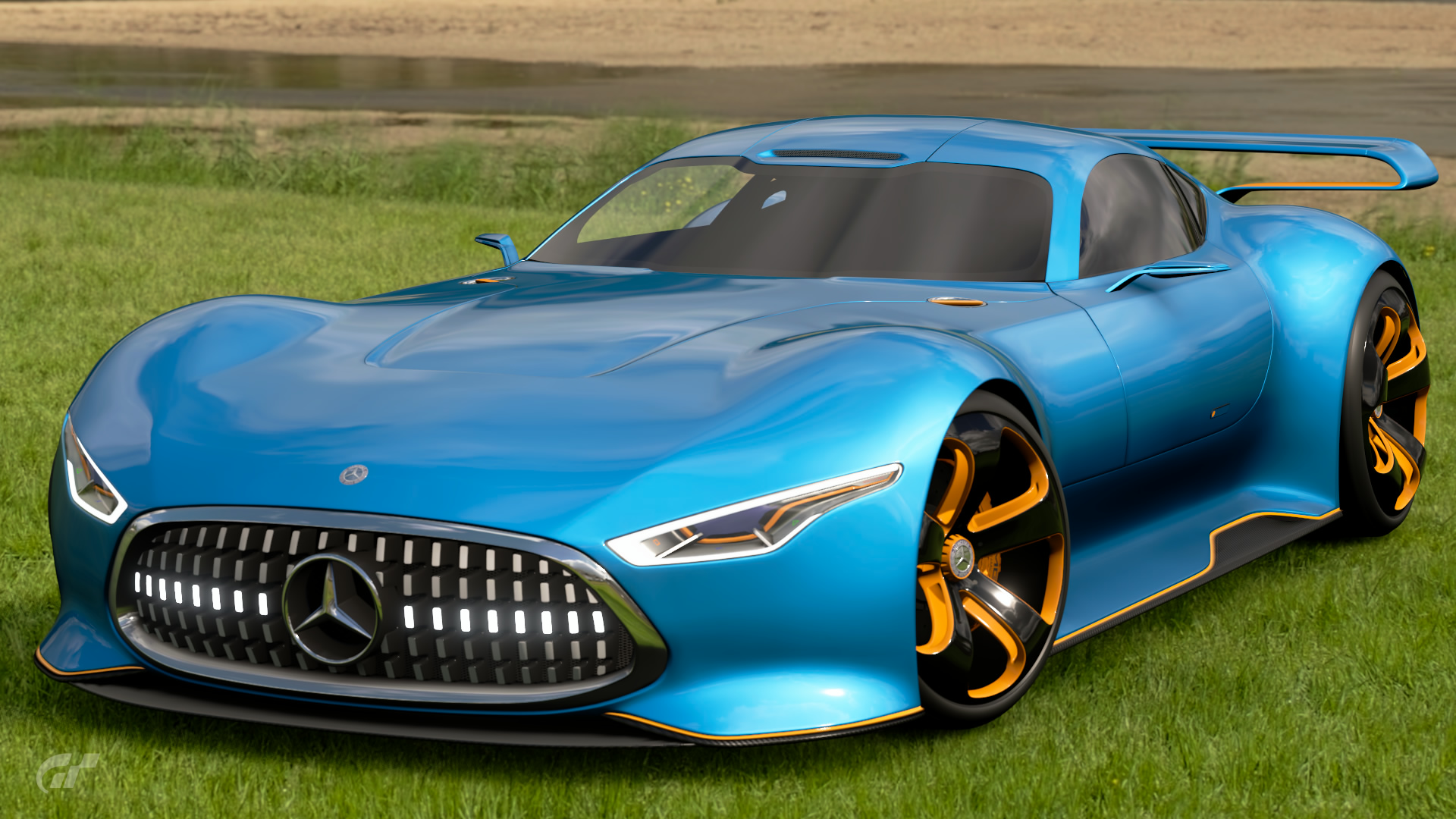 Amazing Mercedes Benz AMG Vision Gran Turismo Racing Series