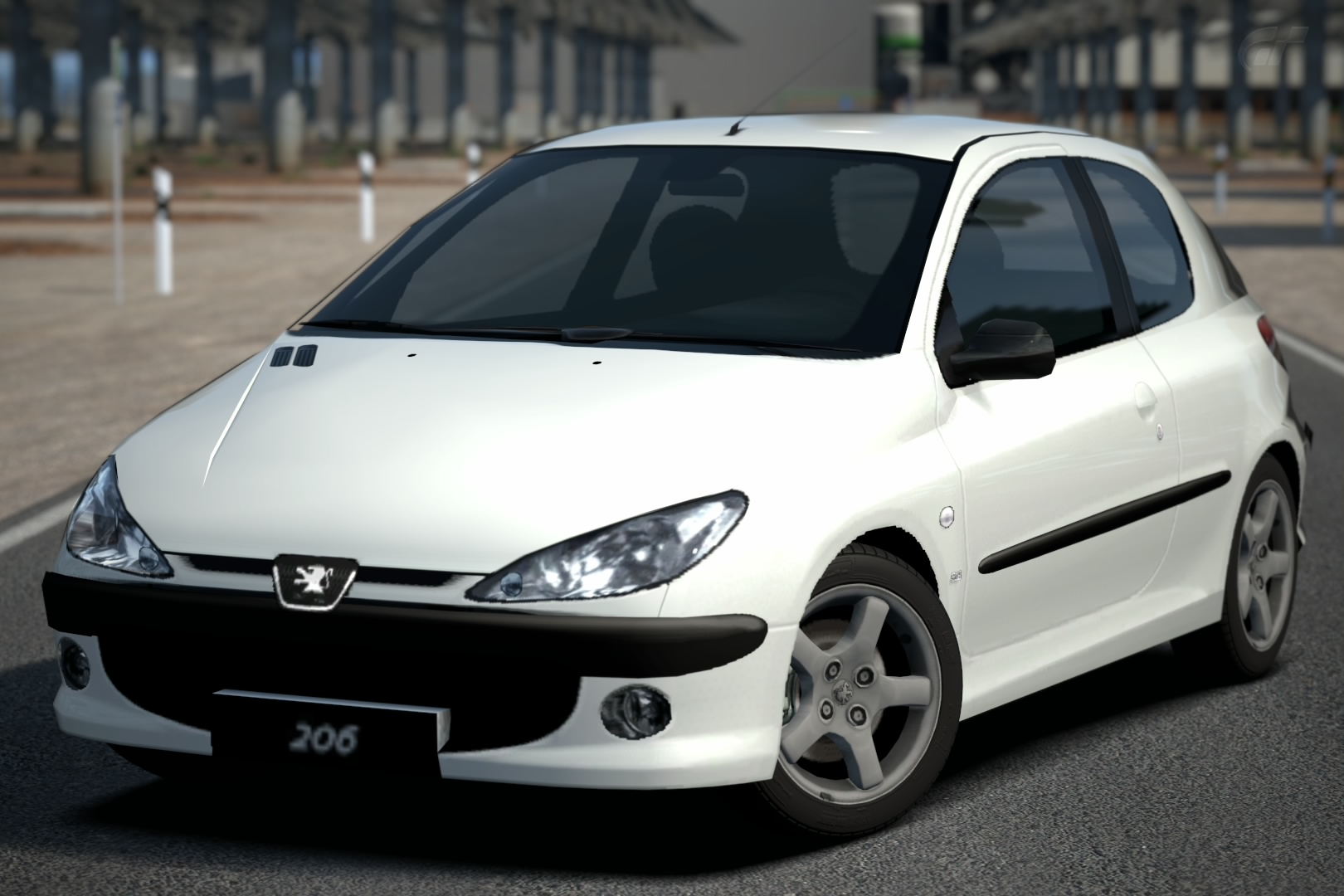 peugeot 206 s16 39 99 gran turismo wiki fandom powered by wikia. Black Bedroom Furniture Sets. Home Design Ideas