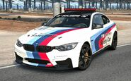 BMW M4 M Performance Edition Safety Car