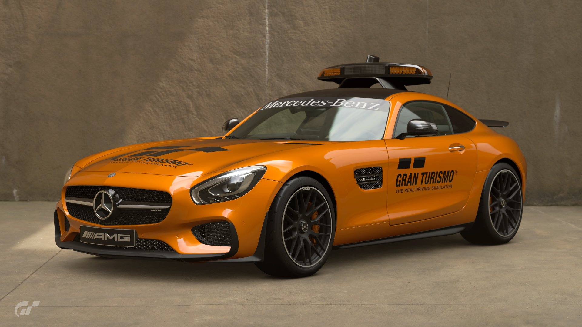 Mercedes AMG GT Safety Car