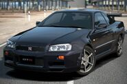 Nissan SKYLINE GT-R Special Color Midnight Purple II (R34) '99