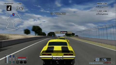 Gran Turismo 4 - Chevrolet Camaro Z28 302 '69 HD PS2 Gameplay
