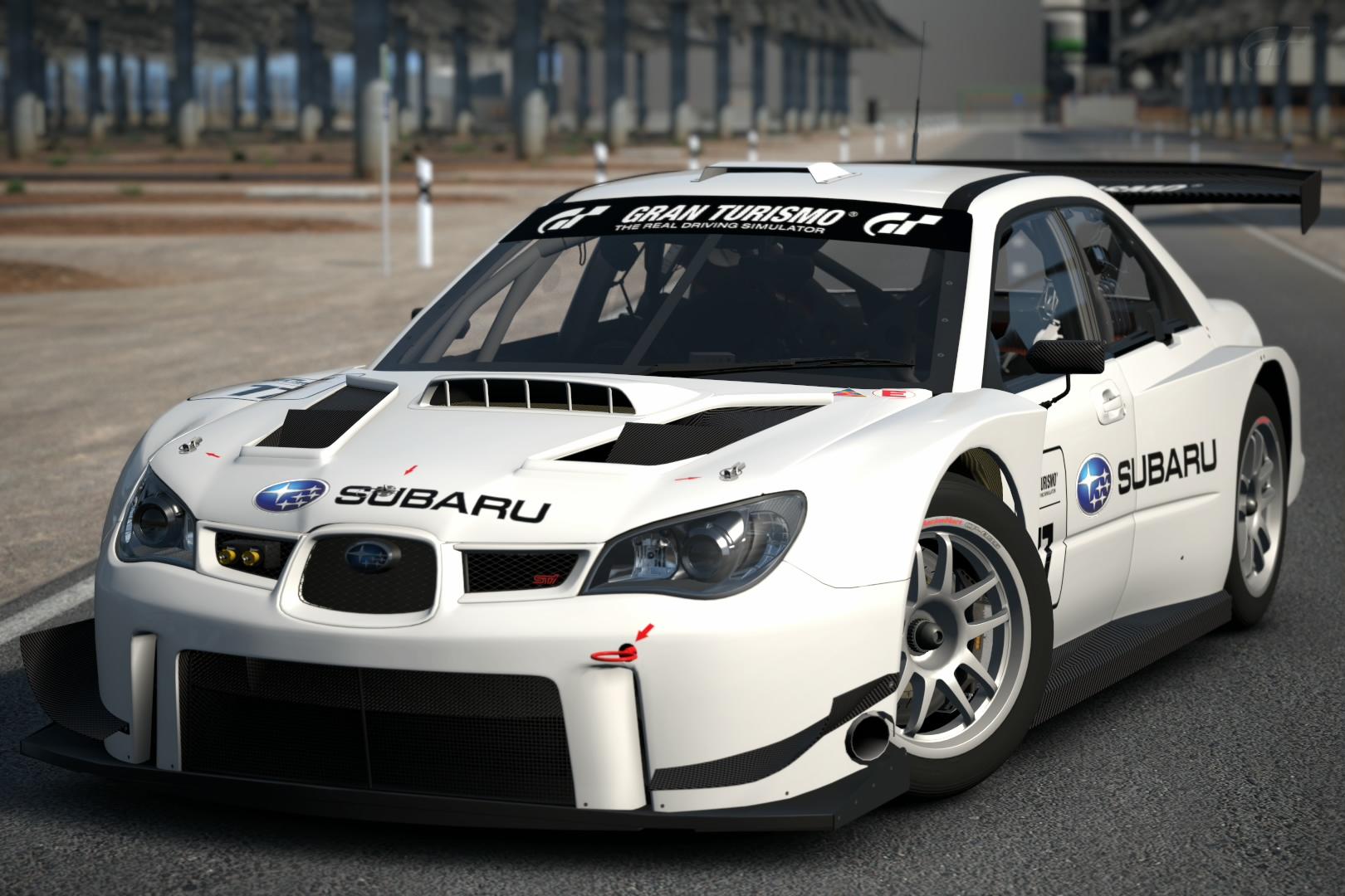 Subaru IMPREZA GT300 Base Model '08 | Gran Turismo Wiki ...