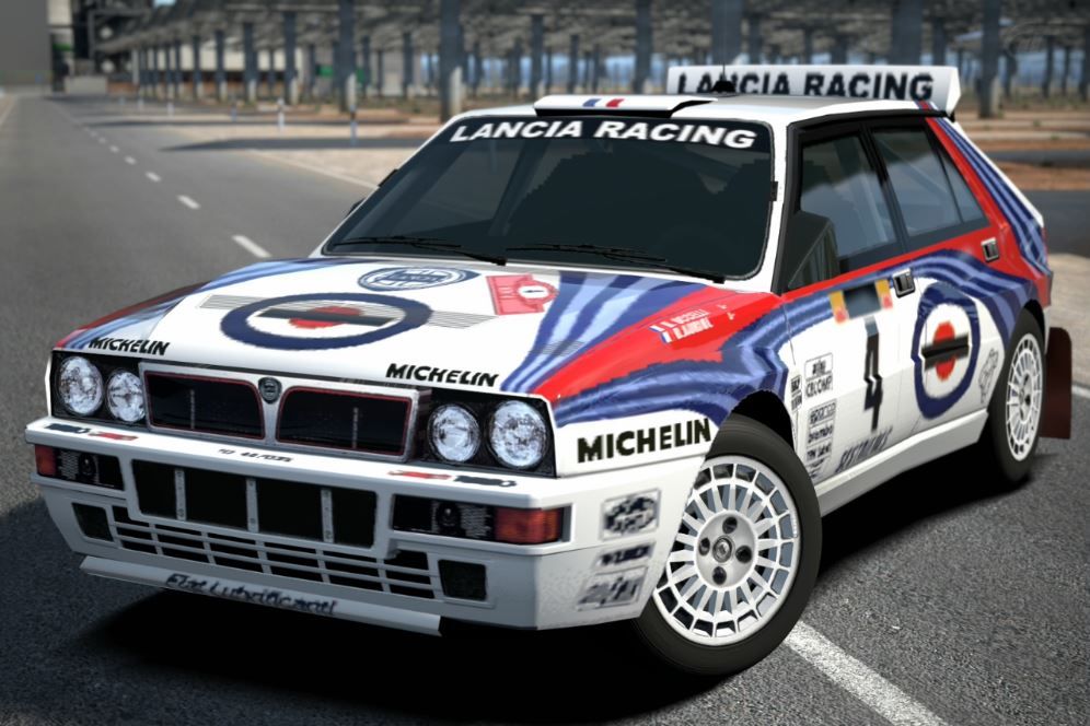 lancia delta hf integrale rally car 39 92 gran turismo wiki fandom powered by wikia. Black Bedroom Furniture Sets. Home Design Ideas