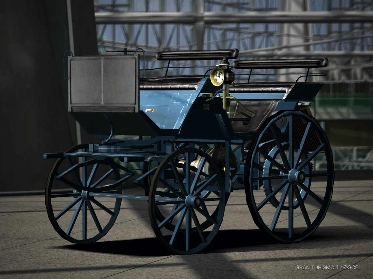 Mercedes-Benz Daimler Motor Carriage 1886