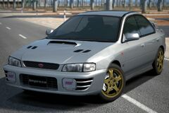 Subaru IMPREZA Sedan WRX STi Version III '96 (GT6)