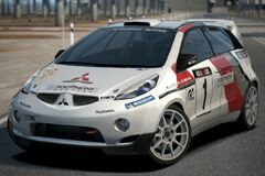 Mitsubishi CZ-3 Tarmac Rally Car