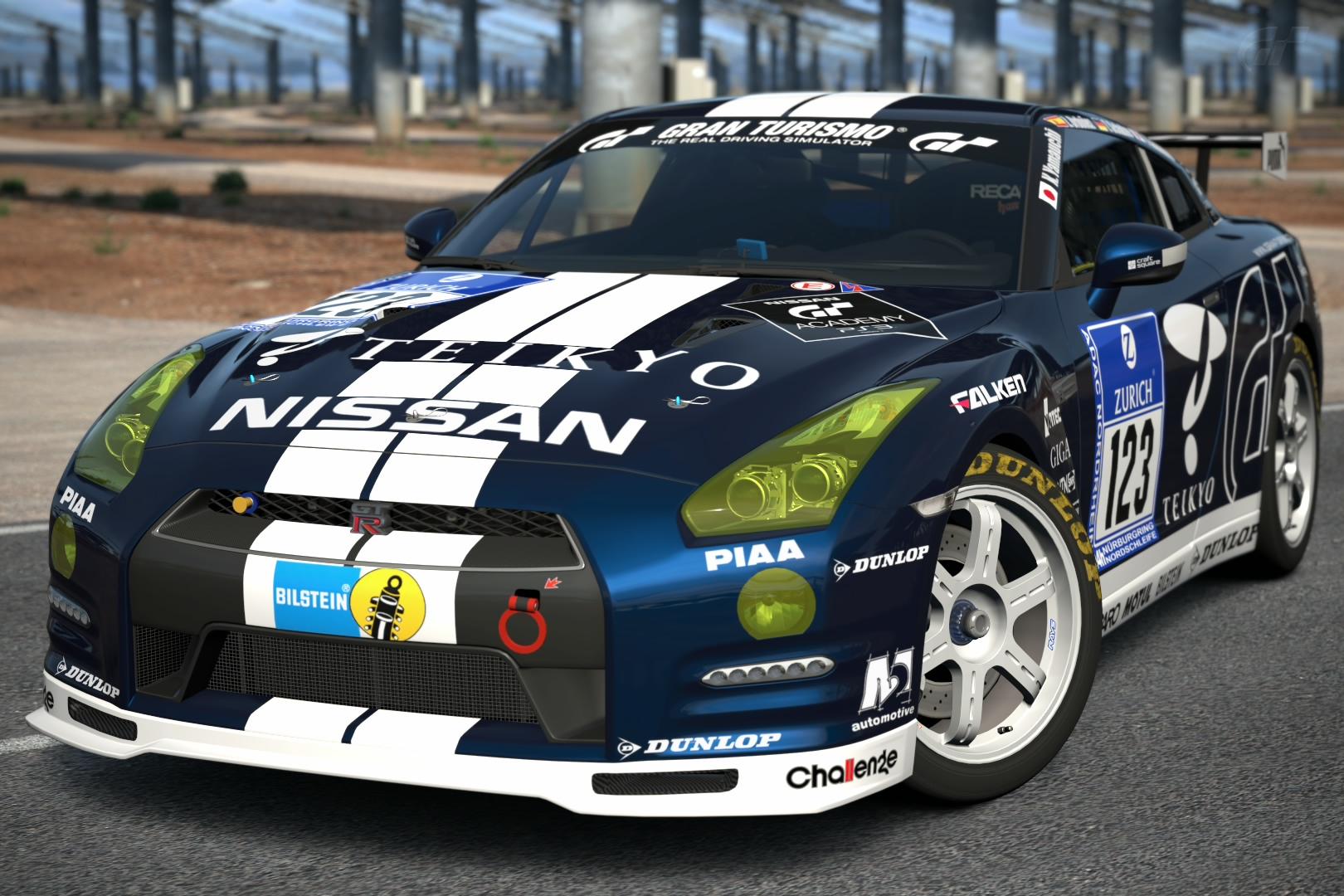 Nissan Gt R N24 Gt Academy 12 Gran Turismo Wiki Fandom Powered