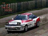 Toyota CELICA GT-FOUR Rally Car (ST165) '90