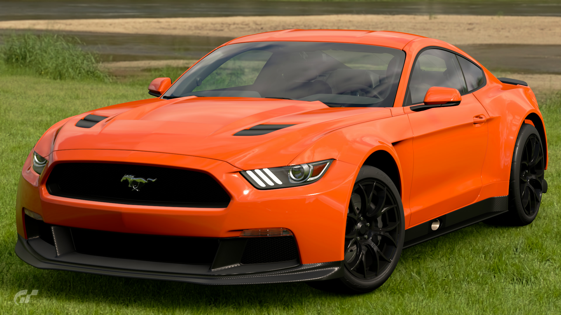 Ford mustang gr 3 road car