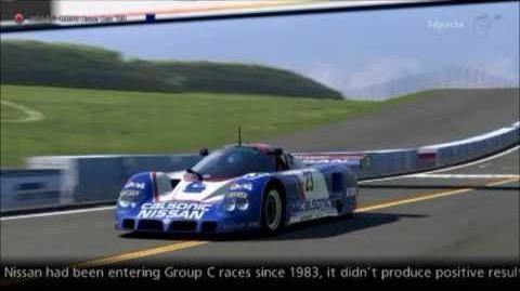 Nissan R89C Race Car '89