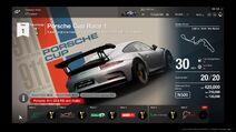 Porsche Cup Menu