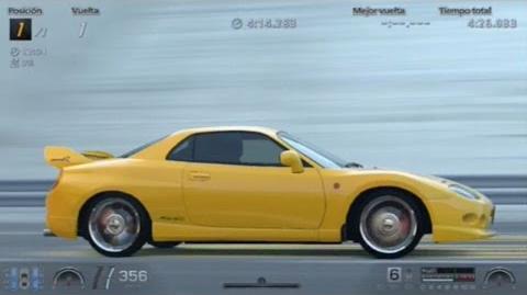MITSUBISHI FTO GP VERSION R 1997 420CV 417KMH GRAN TURISMO STAGE ROUTE X-0