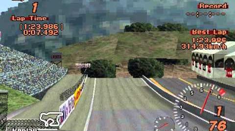 Gran Turismo 2 - Laguna Seca Reverse