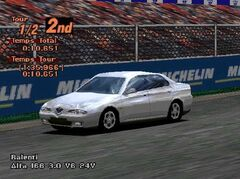 1998 Alfa Romeo 166 3.0 V6 24V