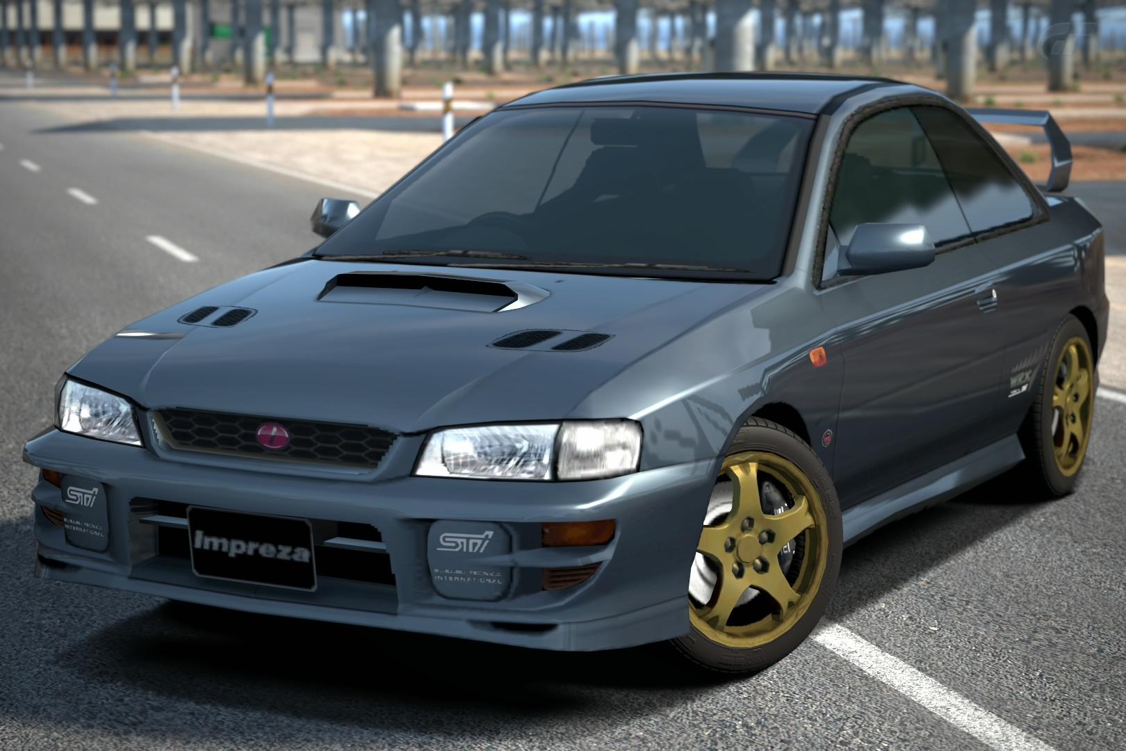 Subaru IMPREZA Coupe WRX TypeR STi Version VI 99