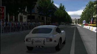 Toyota 2000gt - Opera Paris - Gran Turismo PSP-0