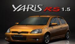 GT3 Yaris RS Orange Metallic