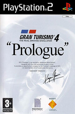 Gran Turismo 4 Prologue Cover