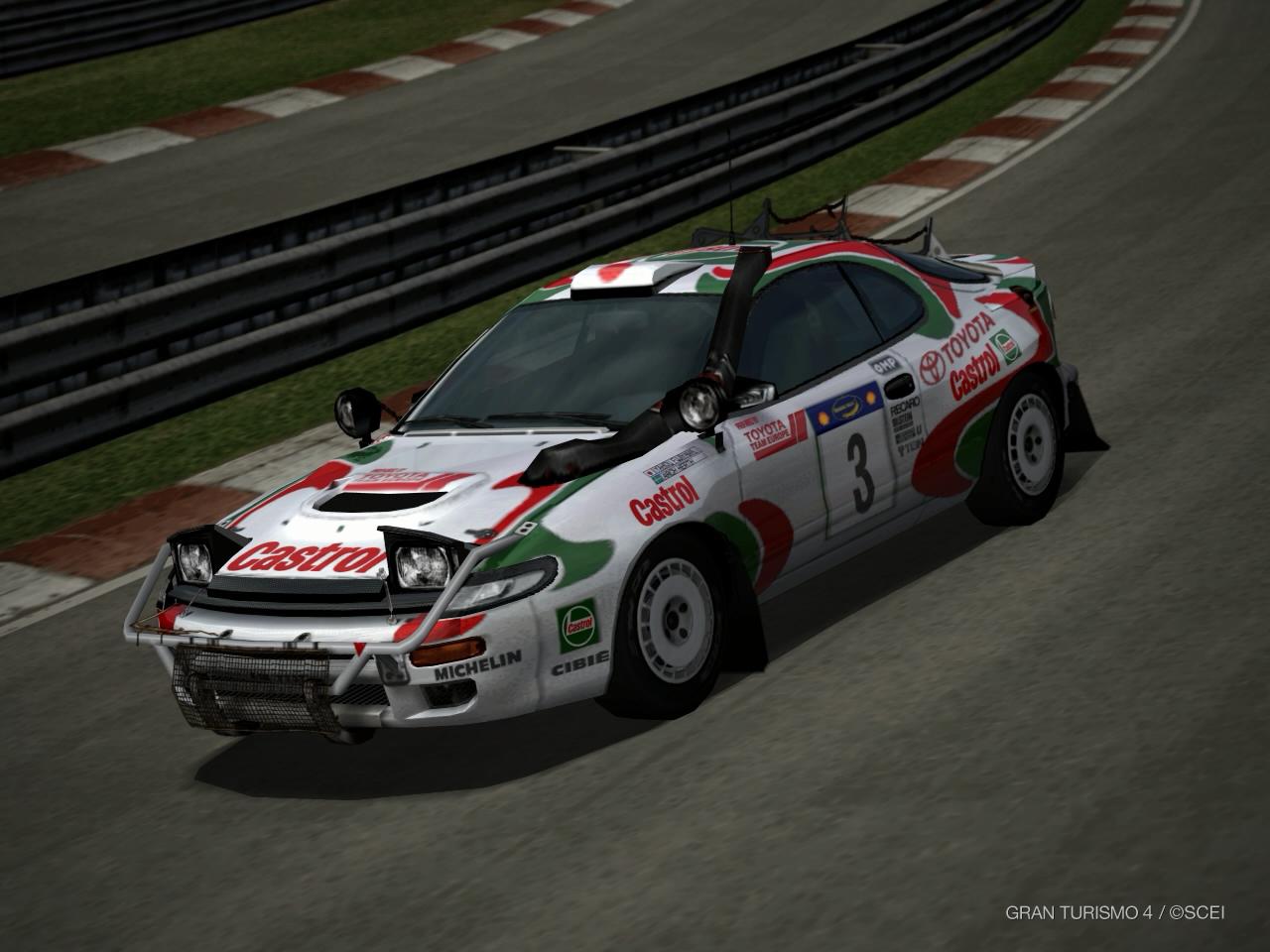 Toyota CELICA GT-FOUR Rally Car (ST185) \'95 | Gran Turismo Wiki ...