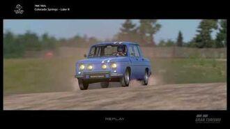 Renault R8 Gordini '66 Showcase