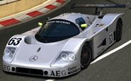 Mercedes-Benz Sauber Mercedes C9 Race Car '89