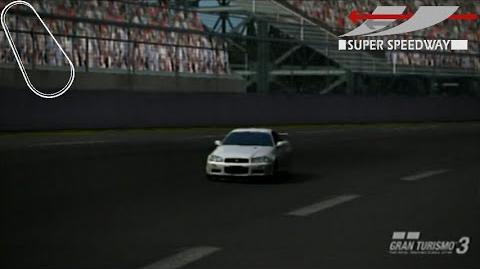 Super Speedway 1 Lap Attack - GT3 A-Spec