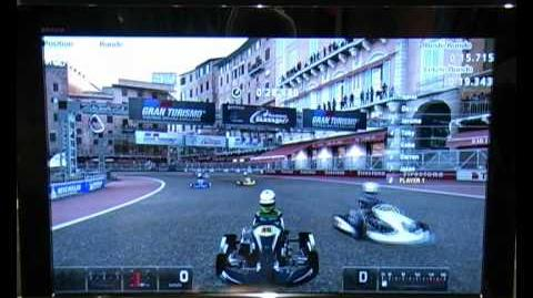 GT5 GamesCom Demo Karting at Piazza del Campo