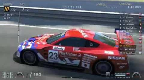 Nissan GT R Concept LM Race Car - Circuit de la Sarthe (GT6)