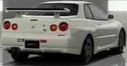 Nissan SKYLINE GT-R M • spec (R34) '01 (Back)