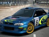 Subaru IMPREZA Rally Car '99