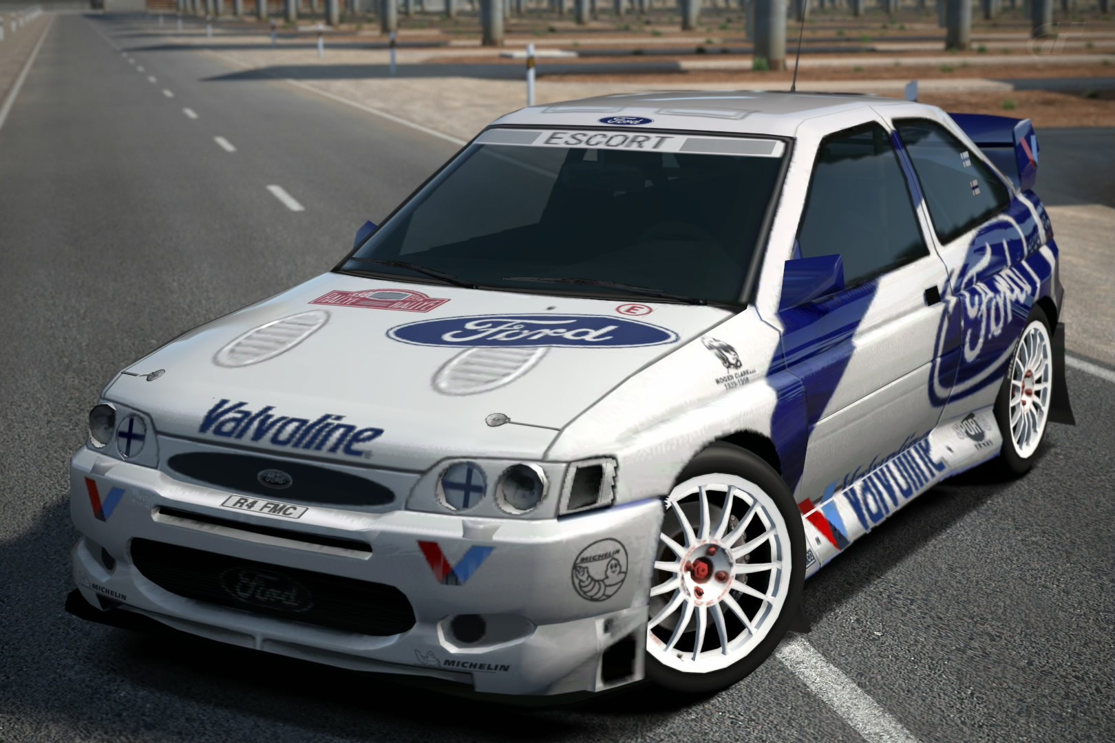 Image - Ford Escort Rally Car \'98 (PS3).jpg | Gran Turismo Wiki ...