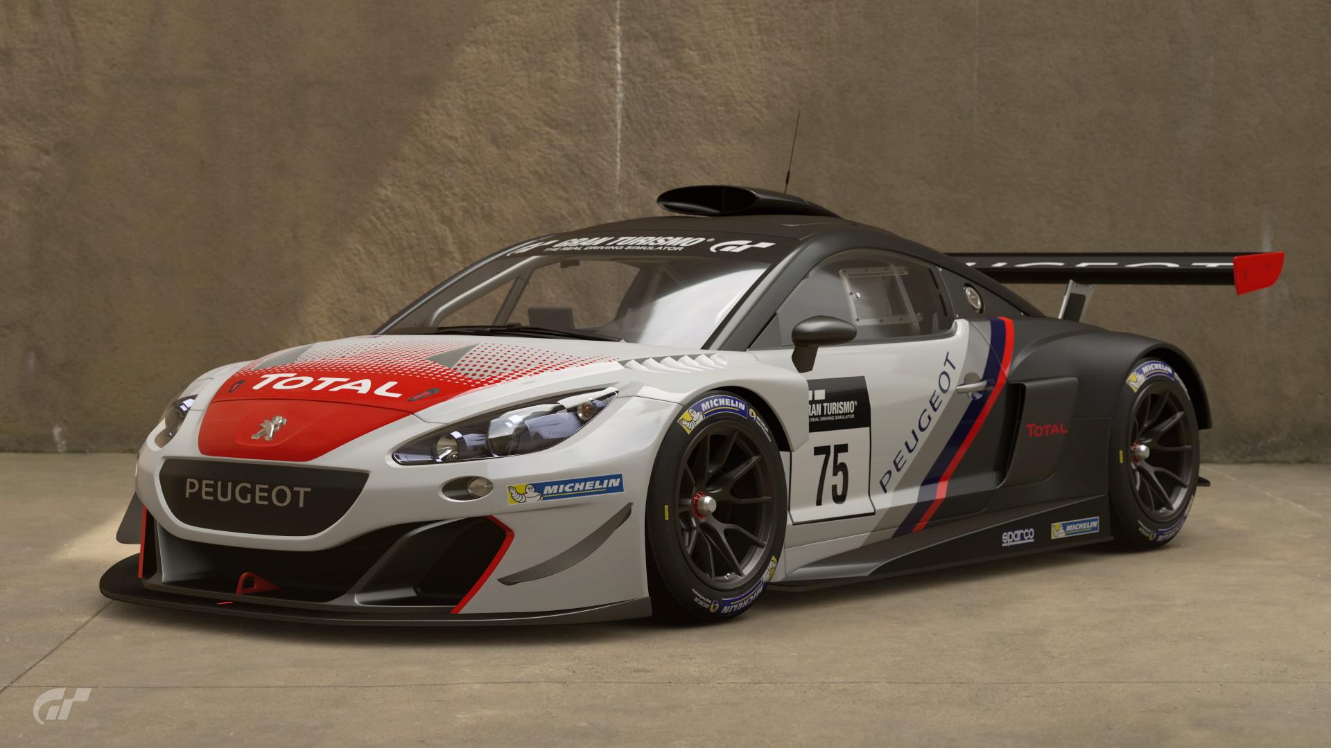 Peugeot RCZ Gr.3 | Gran Turismo Wiki | FANDOM powered by Wikia