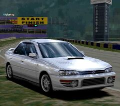 Subaru IMPREZA Sedan WRX '94