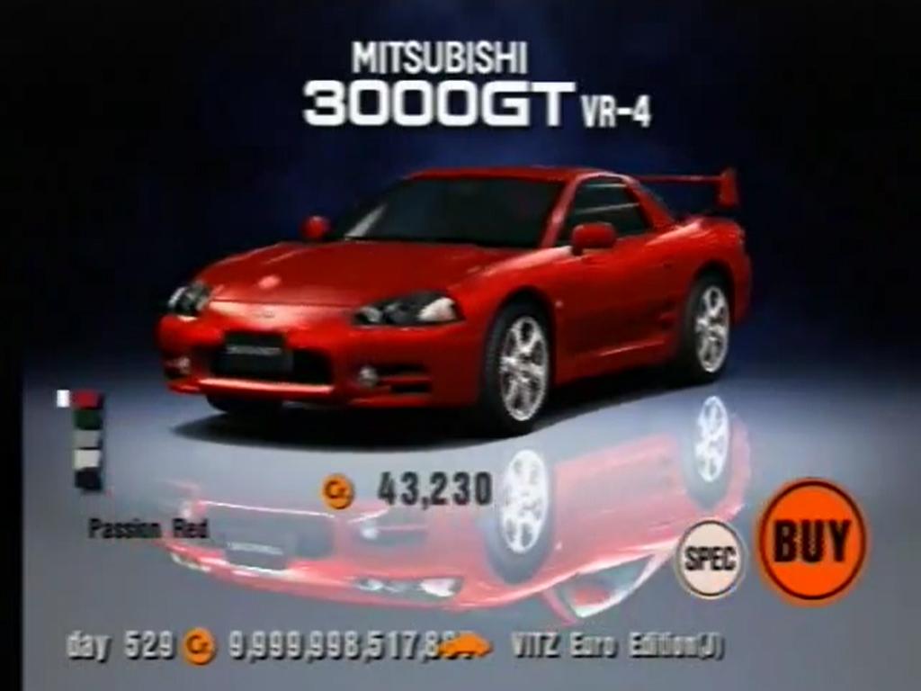 Mitsubishi 3000GT VR-4 (J) '99   Gran Turismo Wiki   FANDOM powered