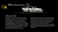 Nissan Silvia S14 Q's AERO info (black)