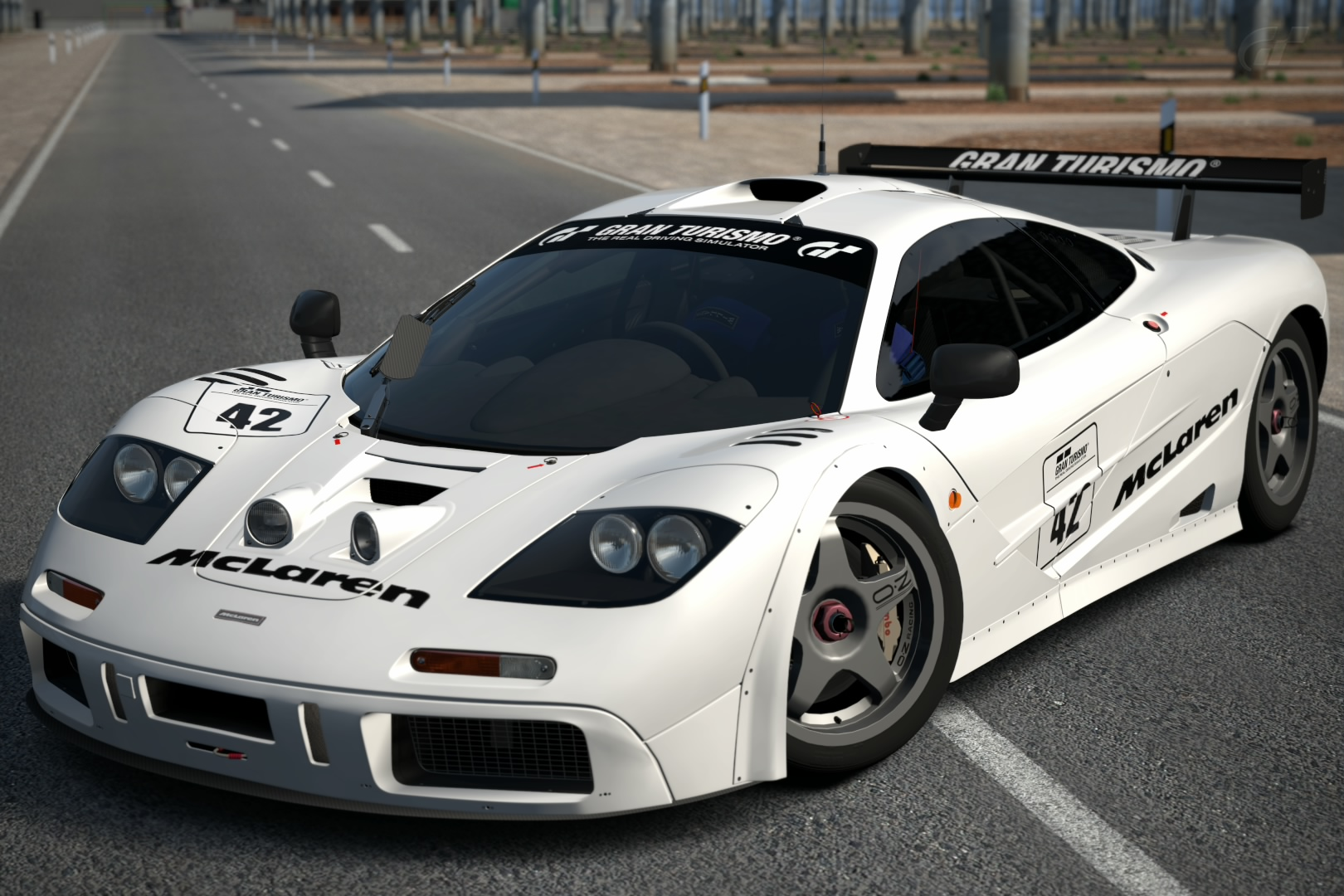 McLaren F1 GTR Race Car Base Model '95 | Gran Turismo Wiki | FANDOM ...
