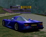 Nissan R390 GT1 Road Car '98 (GT2) - Rear