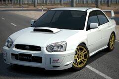Subaru IMPREZA Sedan WRX STi (Type-II) '02