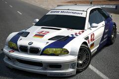 BMW M3 GTR Race Car '01 (GT6)