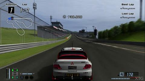 Gran Turismo 4 - Mitsubishi Lancer Evolution Super Rally Car HD PS2 Gameplay