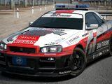 Nissan GRAN TURISMO SKYLINE GT-R (PaceCar) '01