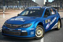 Subaru IMPREZA WRC 2008 '08