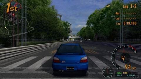 Gran Turismo 3 - Subaru IMPREZA Sedan WRX STi Version (Type-I) '00 PS2 Gameplay HD