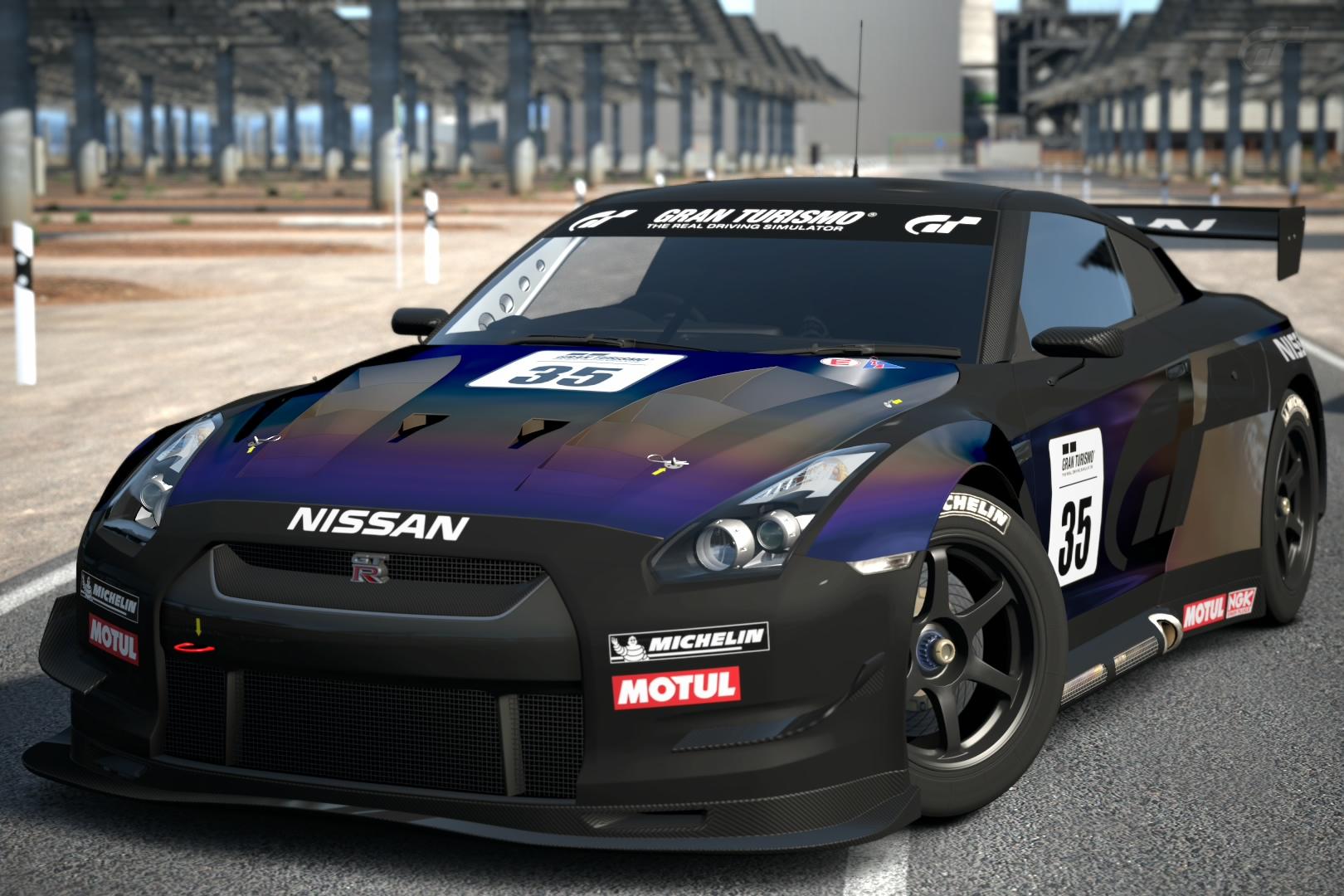 Nissan Gt R R35 Touring Car