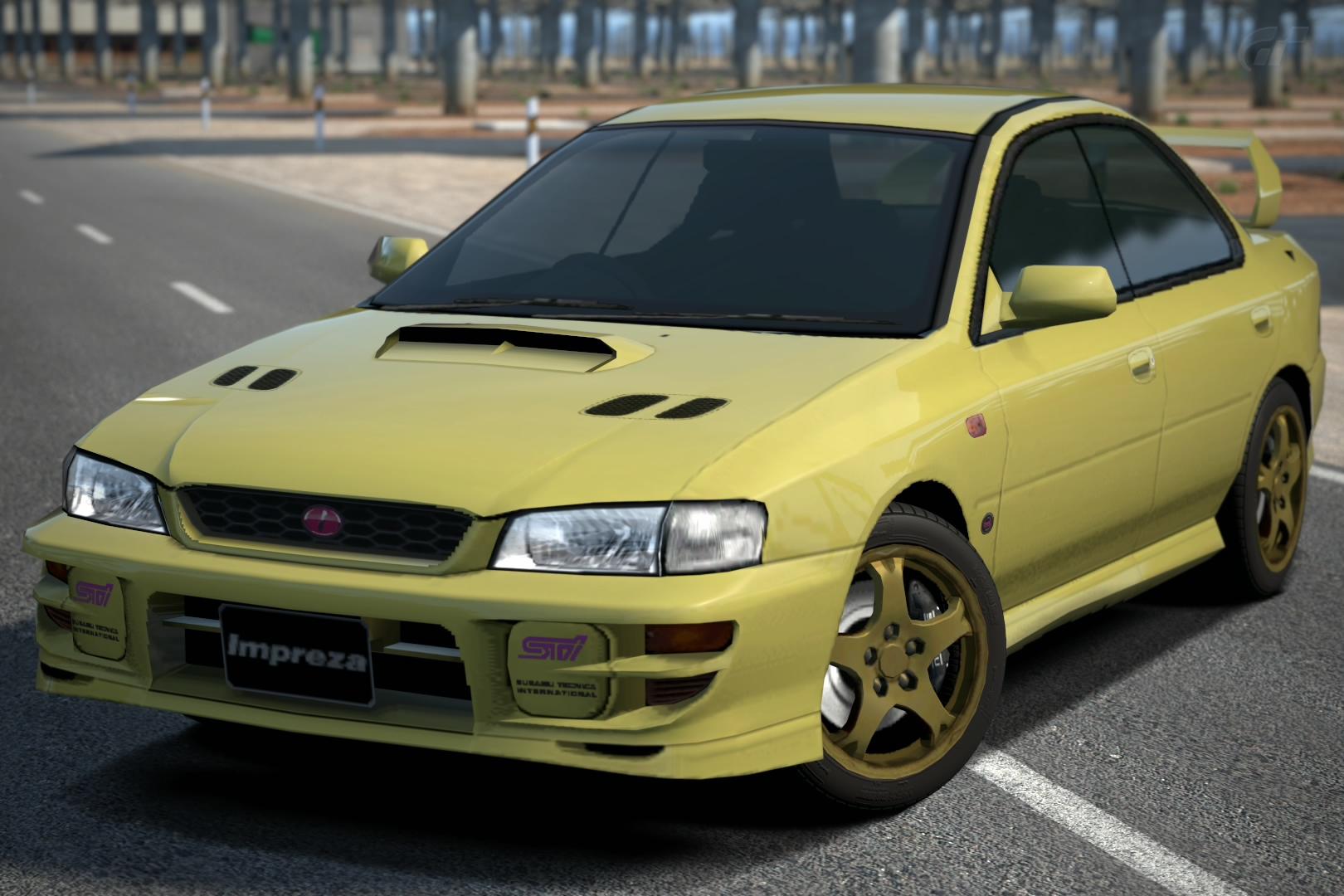 Subaru IMPREZA Sedan WRX STi Version VI 99